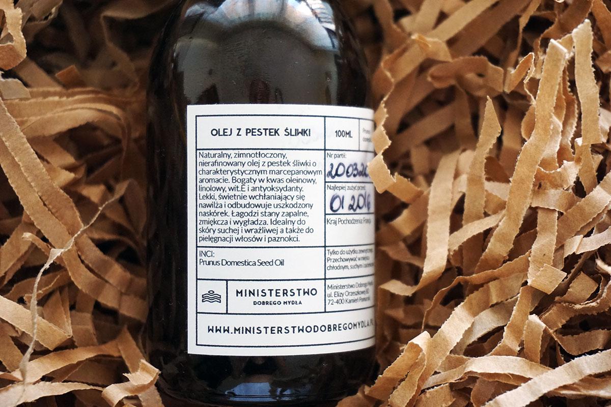 Olej z pestek śliwki