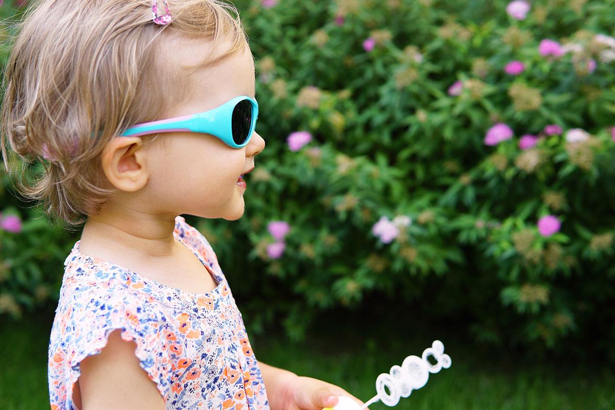 Okulary przeciwsłoneczne dla malucha