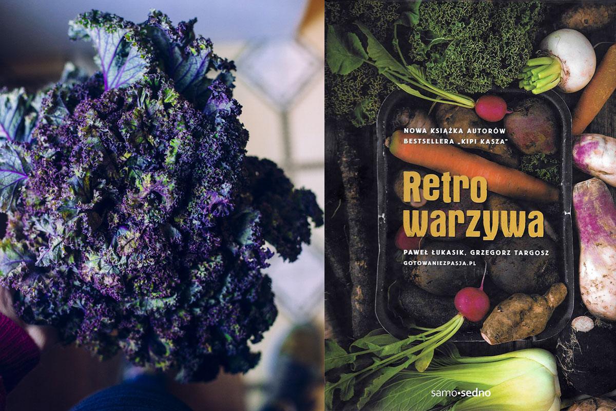 Retro warzywa dla malucha