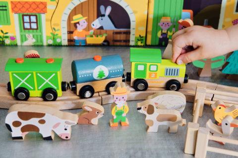 Drewniana kolejka – prezent idealny